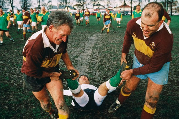 "Golden Oldies—rugby for the over-35s—is a burgeoning movement that stages regular international festivals—the last in Sydney in 2010, and the next in Fukuoka in 2012. In 1995, 195 teams from 24 countries converged on Christchurch where Russia's ""Star's Moscovskie Dedy"" met the Sydenham Cavaliers in an enthusiastic encounter. The referee is ""helped"" from the field after a match in which no one remembers the score."