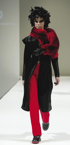 """Also making an impact on the catwalks is New Zealand fashion brand World, which incorporated possum fur in several garments in its winter 2003 collection, entitled """"The Empire Strikes Back."""" Its dyed possum-fur wraps sell for $530 to $870."""