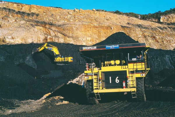 Today, 80 per cent of our coal comes from opencast mines— including the lignite which constitutes 80 per cent of the country's coal resource, most of it in Southland. Traces of wood which gave rise to the coal can be seen in lignite, a low-rank coal.