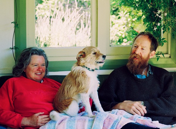 Lynda Kitchingham, Dylan Simson and Bilbo Baggins moved to Clarence in 1997 when property prices skyrocketed in Kaikoura. Among other pursuits, they grow lavender for oil and take in travellers as part of the Willing Workers on Organic Farms (WWOOF) network.