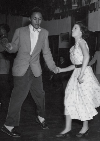 Dancing at Ngati Poneke Young Maori Club in the early 1950s, Don and sister-in-law Agnes Manunui, were renowned for their skilful jive and rock 'n' roll. During the 1960s, when Beatlemania swept the world, dancing was even practised during lunch breaks.