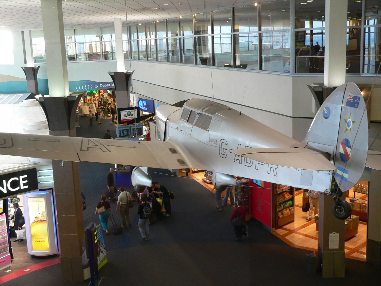 The international terminal at Auckland Airport has been named after Jean and her Percival Gull plane is suspended within. Although a fitting tribute, neither conjures up the glamour that once attached to her and that she so cherished.