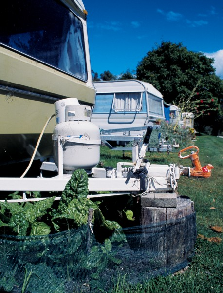 In many campgrounds, caravans become simple holiday homes, left here by the owner permanently for a modest fee and used regularly. Some owners develop gardens around their accommodation, making even more of a home-away-from-home.