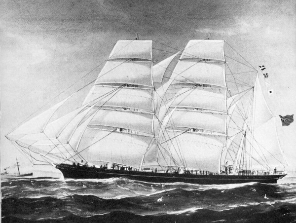 This illustration of what was purported to be Otago was used in Conrad's Mirror of the Sea.