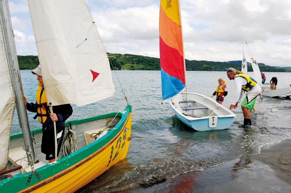 The Raglan Sailing Club meets every two weeks in Whaingaroa Harbour to learn, race and explore.