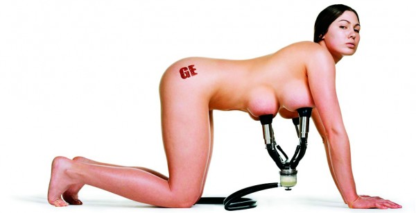 "MADGE (Mothers Against Genetic Engineering) ran a billboard campaign for the 2003 election featuring a woman modified with extra mammary glands, hooked up to a milking apparatus. Revulsion and fear are primary weapons in the anti-GM arsenal: campaigners label GM food as ""Franken-food"" and play on widely held fears of the unpredictable consequences of tampering with Nature."