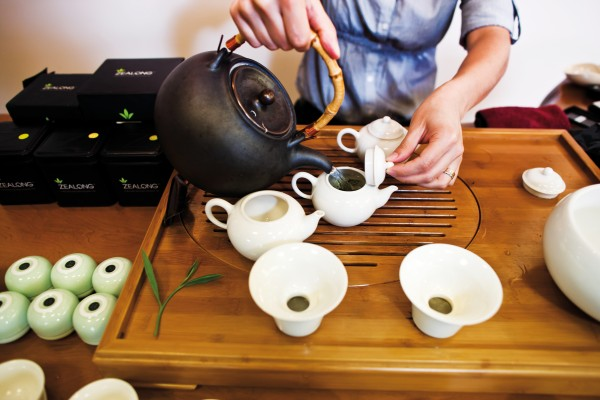 The perfect cuppa starts with the right cup, and the right pot. Porcelain has become the material of choice for its thermal qualities and it doesn't taint the taste—some argue patina inside old clay pots actually adds to the flavor.