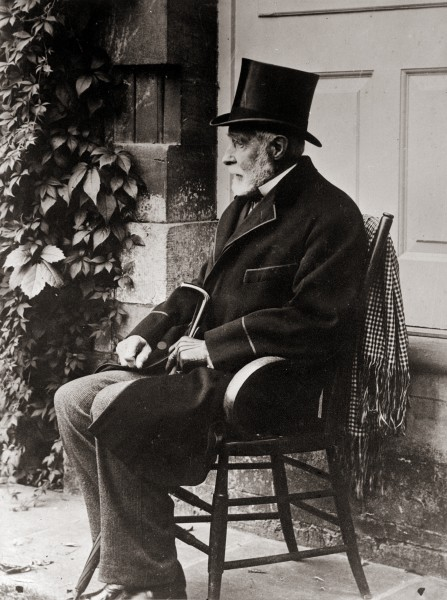 Grey was 74 years old when this photograph was taken in 1886. Although he continued as an MP until he was into his 80s, he was now just a backbencher, increasingly isolated from mainstream of politics. Yet many of his ideas were ahead of their time. He strongly favoured universal male suffrage, and argued that governors should be selected from within their own country-an idea that we have not long accepted, although Grey himself died a century ago.