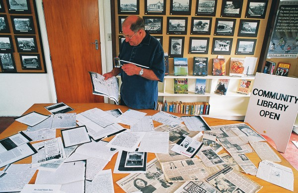 """A good hobby"" is how retired history lecturer Jim Lundy describes his work as Manawatu regional convenor for the DNZB. With a band of local volunteers, he seeks out and researches promising candidates in the community's past for assessment by the dictionary's editors. Like others similarly employed, he has also contributed as an essayist, his subject being municipal and national politician James Alfred Nash."