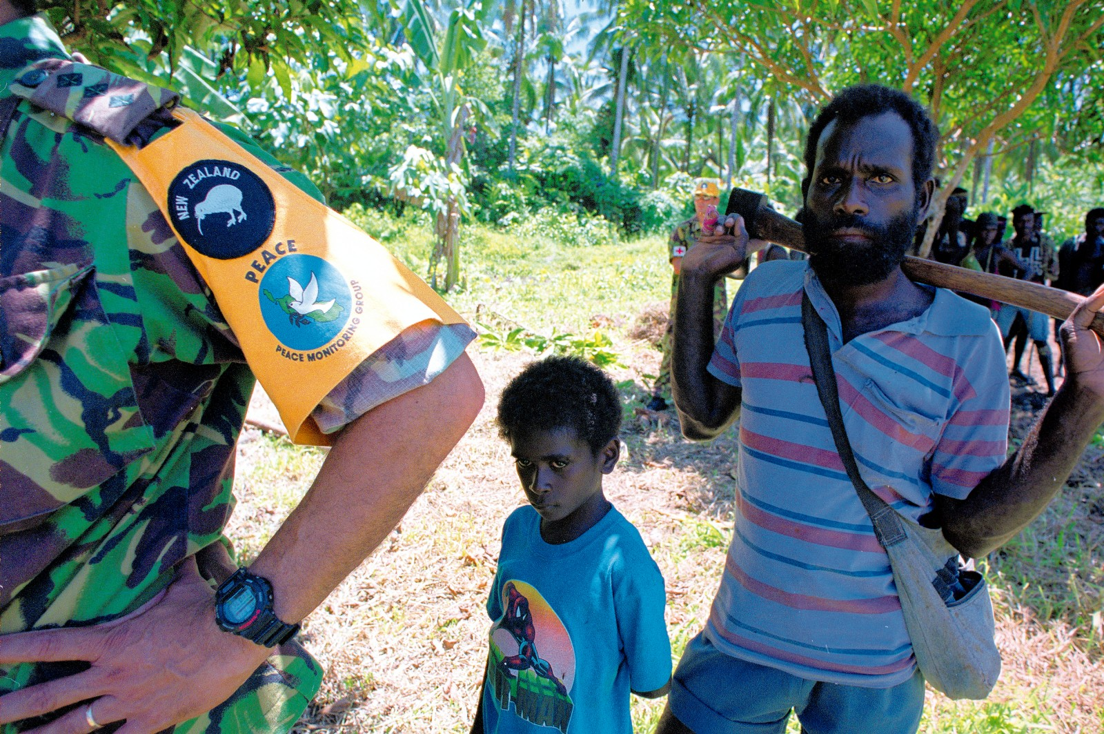 New Zealand diplomacy has been instrumental in bringing political resolution to the troubles on Bougainville, but it is Kiwi soldiers on the ground who have helped restore local confidence by keeping the promise of lasting peace.