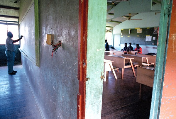 Substandard classrooms are a common feature of most Pacific islands, but with many of its schools looted or destroyed, Bougainville has had to start again from scratch, a process New Zealand is assisting.