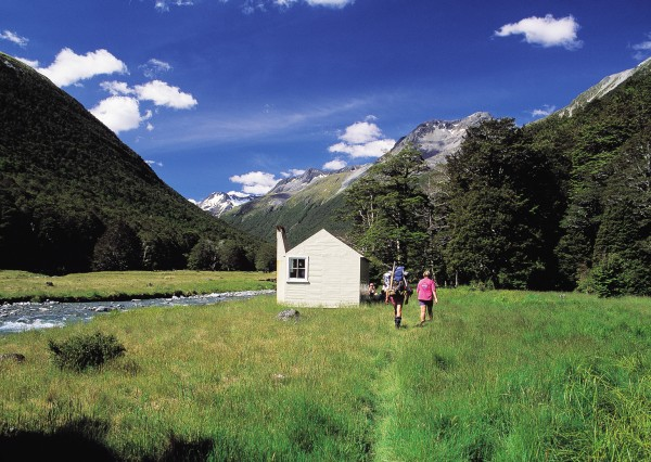 East Matakitaki Hut, Nelson Lakes National Park.