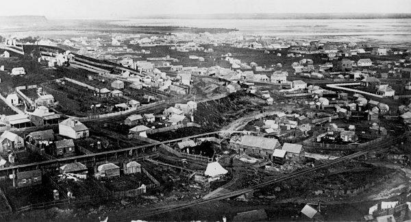 Grahamstown, circa 1880.