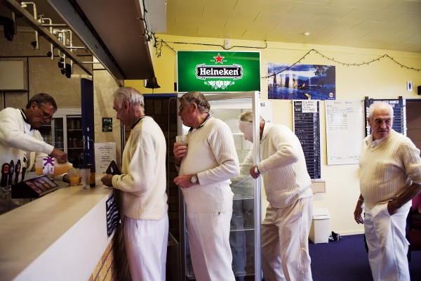 The end of Club Championship Day at St Martins Bowling Club demands some lubrication.