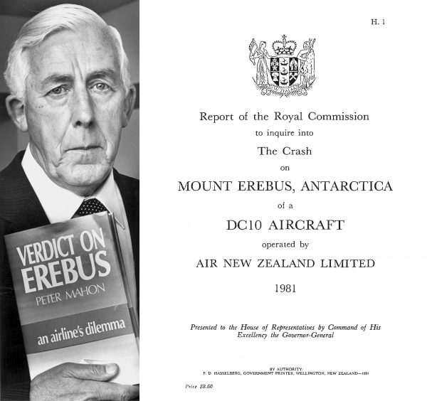 In a book written five years after Erebus, Peter Mahon revealed how, as Royal Commissioner, he reached his controversial conclusions. The report itself, a painstaking account of the country's worst disaster, was repeatedly delayed as Mahon doggedly went about his investigation.