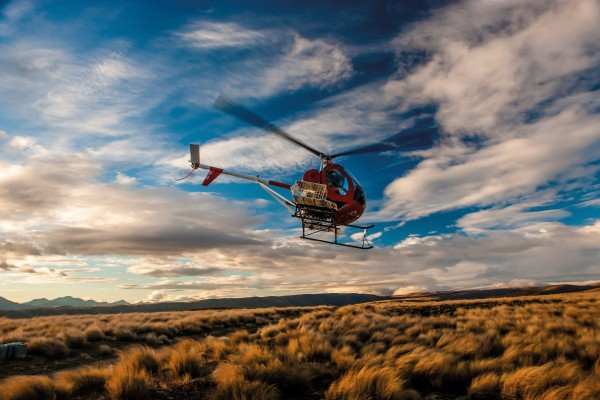 Hugh Cameron uses a helicopter to spot merinos on Otematata Station. While the chopper can speed things up, the bulk of the work is still done the way it has been for generations with shepherds, dogs and horses. Much of the property hasn't changed since his great-grandfather and namesake Hugh Cameron arrived in the Waitaki Valley at the end of the 19th century.